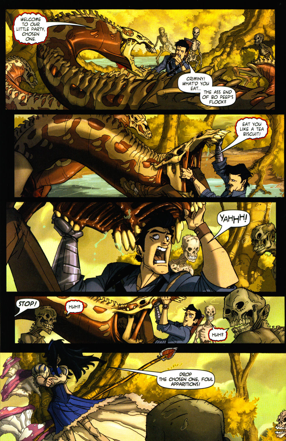 Read online Army of Darkness vs. Re-Animator comic -  Issue #3 - 8