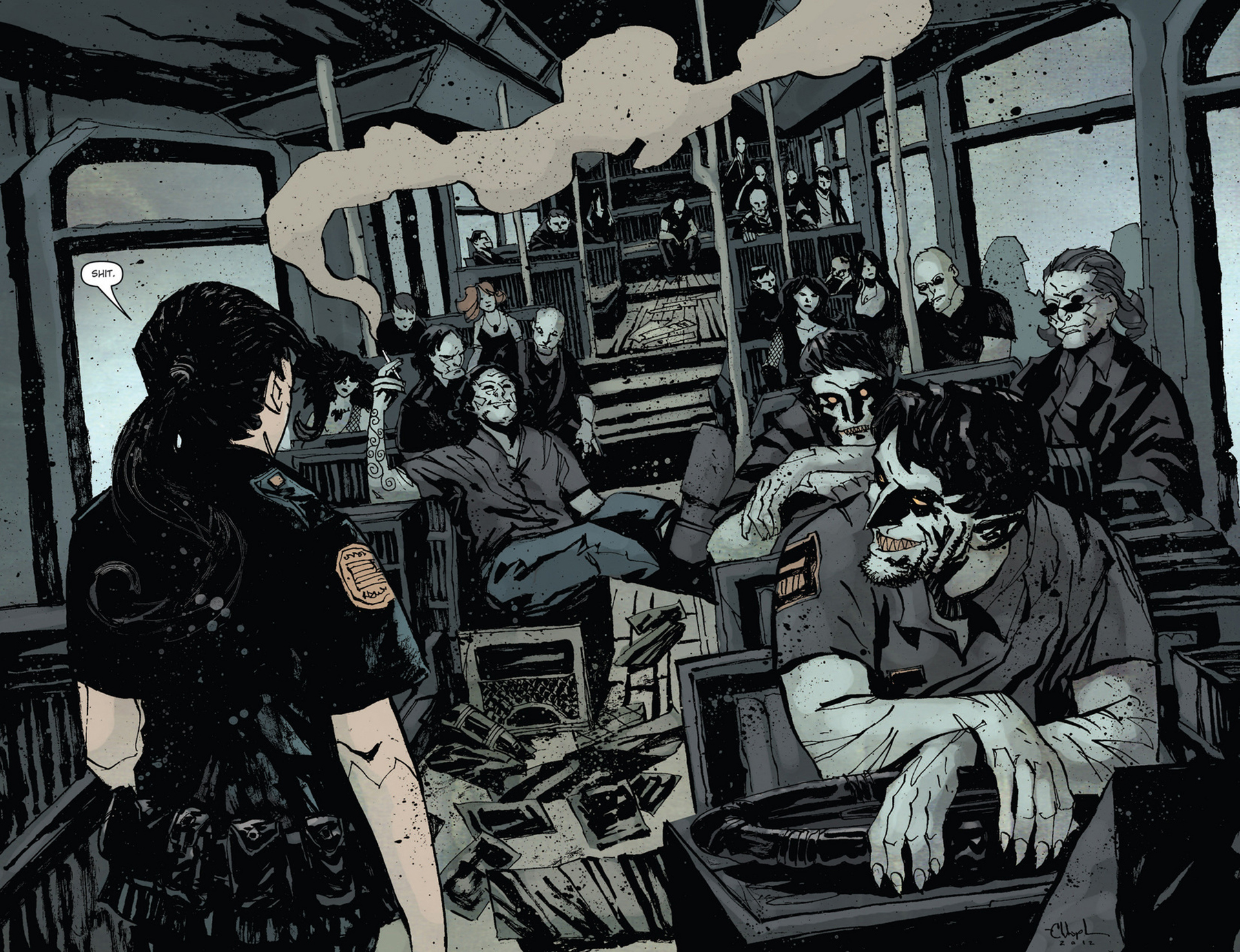 Read online 30 Days of Night (2011) comic -  Issue #10 - 4