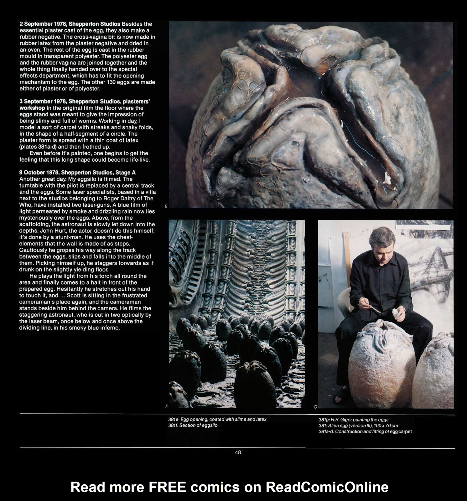 Read online Giger's Alien comic -  Issue # TPB - 50