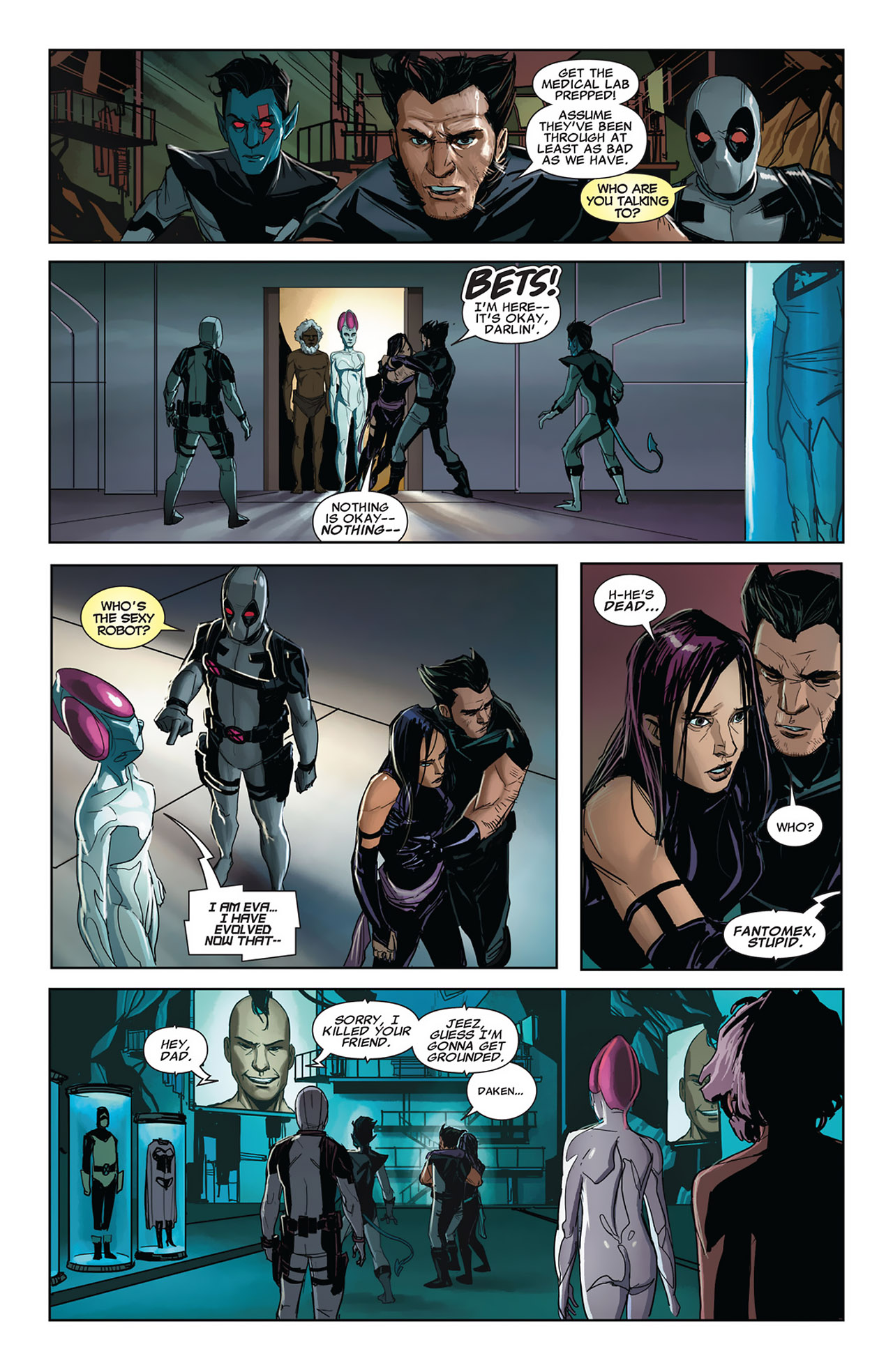 Read online Uncanny X-Force (2010) comic -  Issue #27 - 19