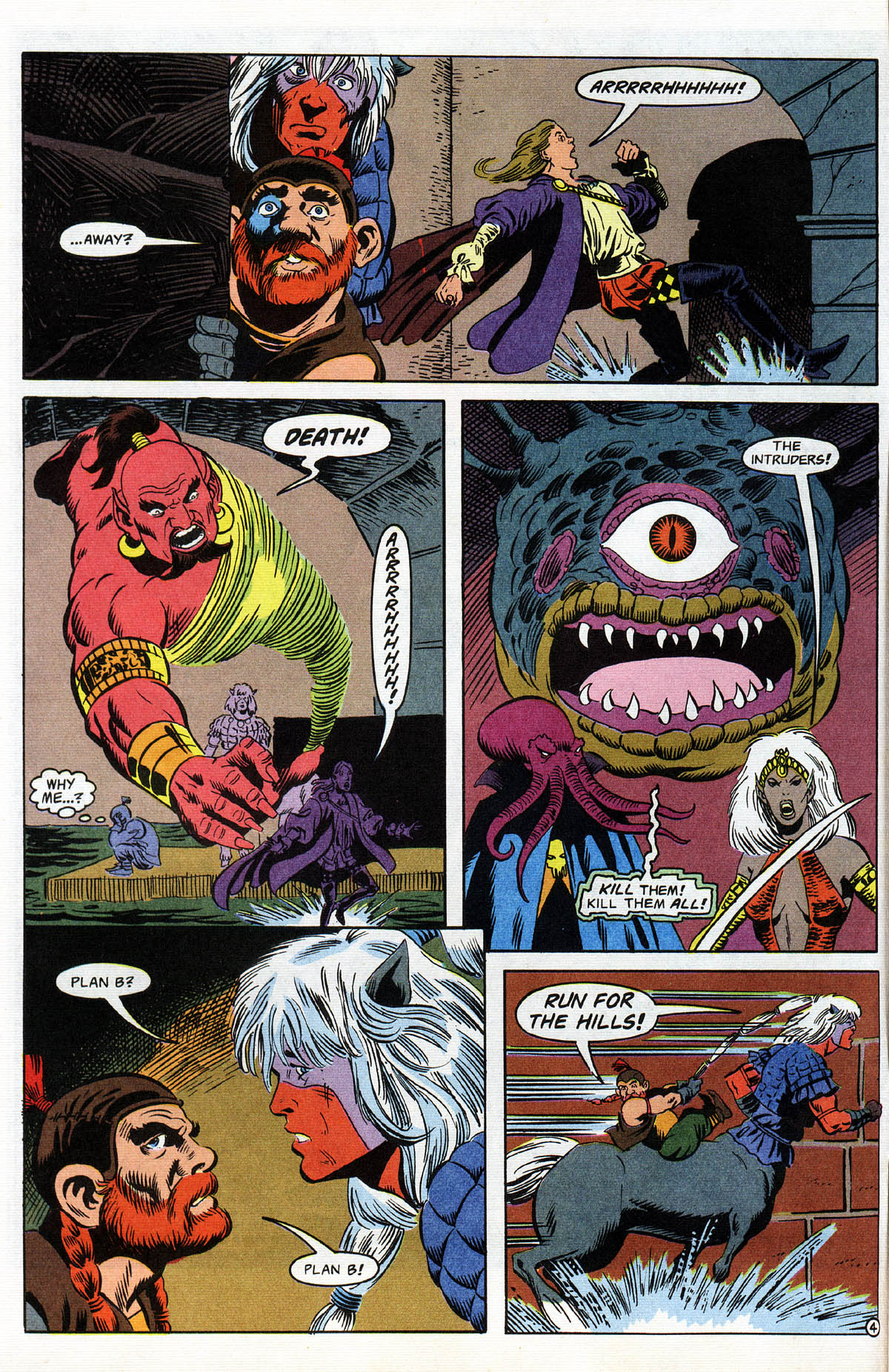 Read online Advanced Dungeons & Dragons comic -  Issue #12 - 5
