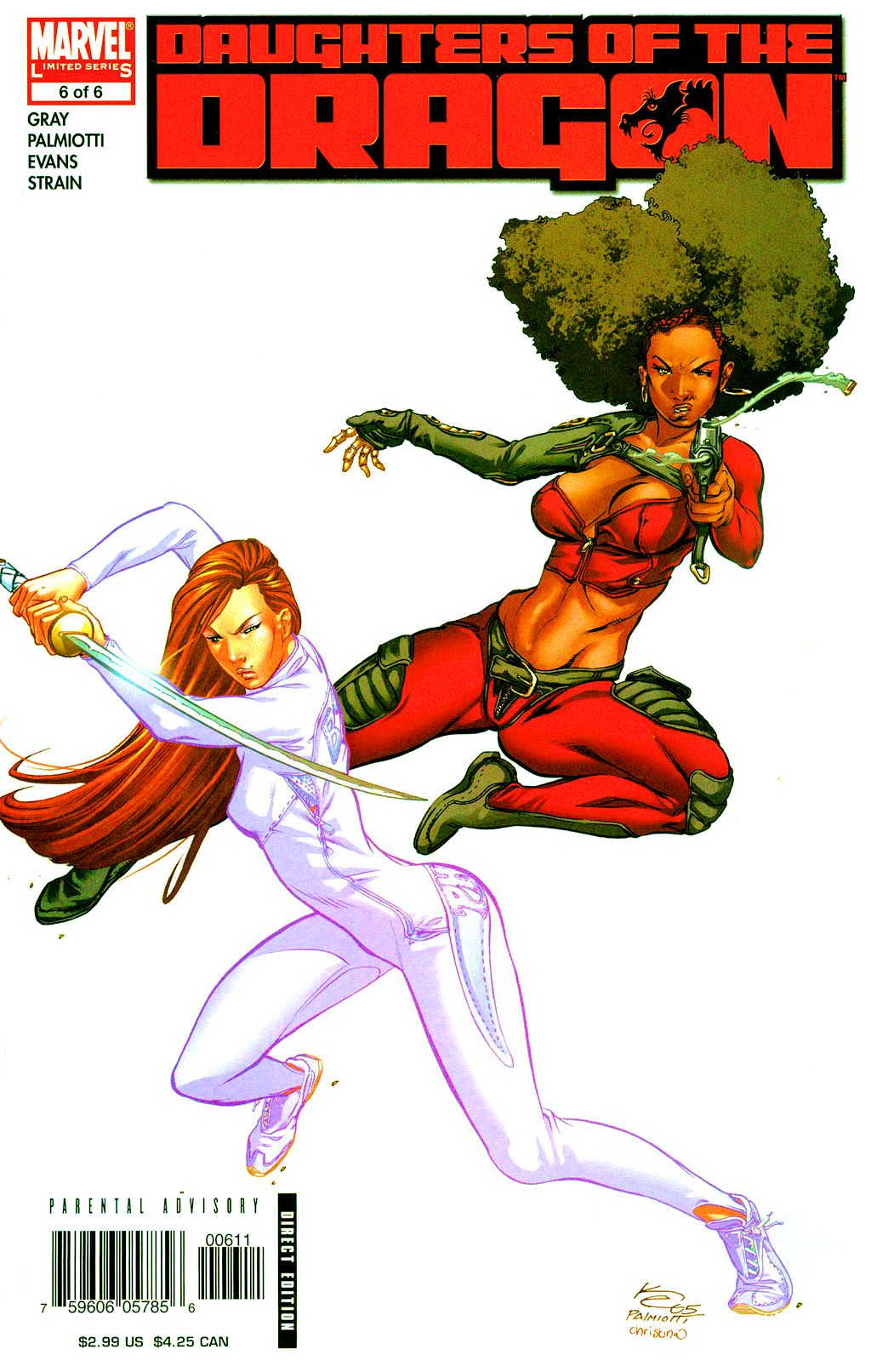 Read online Daughters of the Dragon comic -  Issue #6 - 1