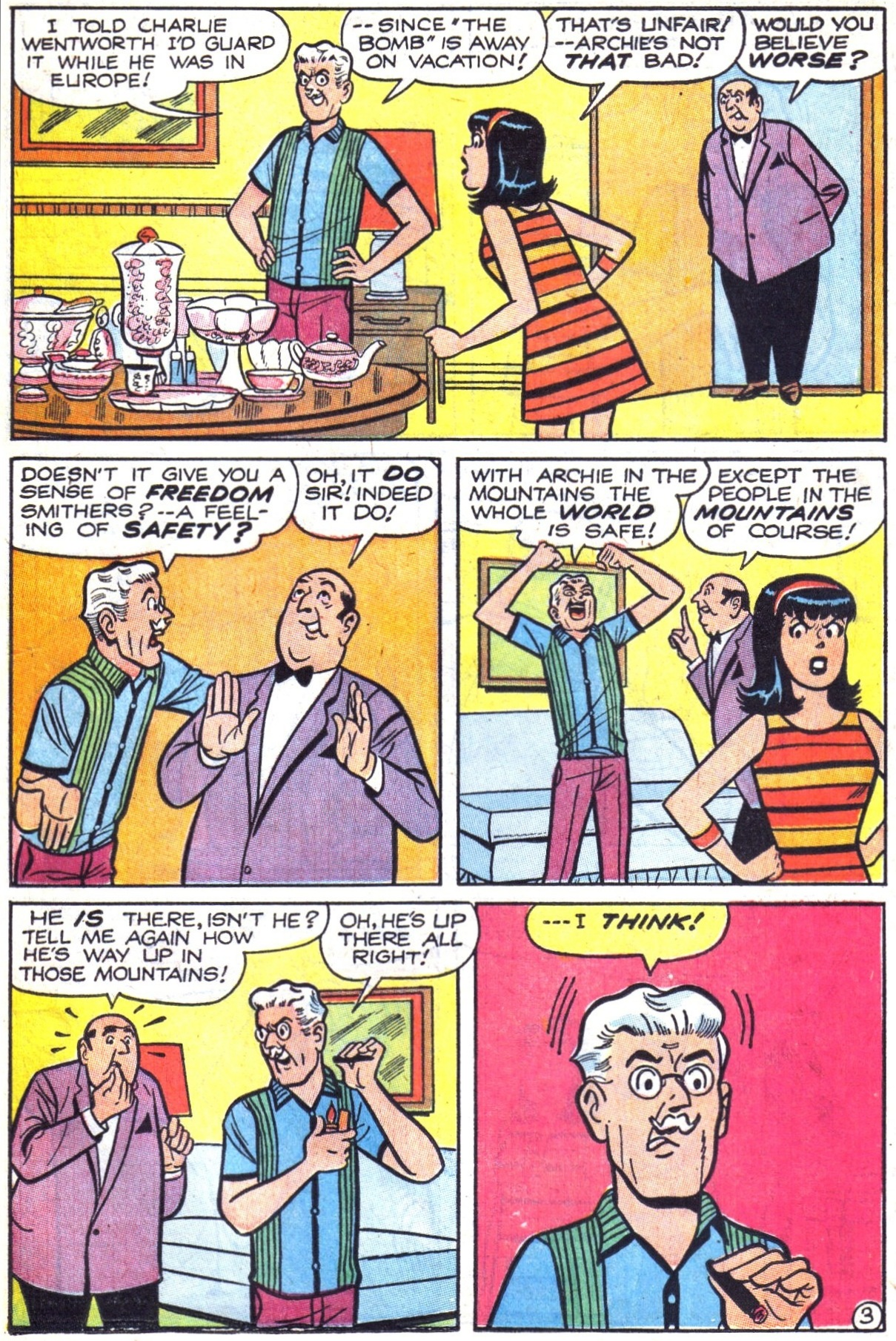 Read online Archie (1960) comic -  Issue #177 - 15
