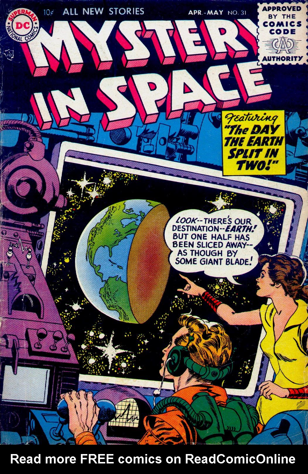 Mystery in Space (1951) issue 31 - Page 1