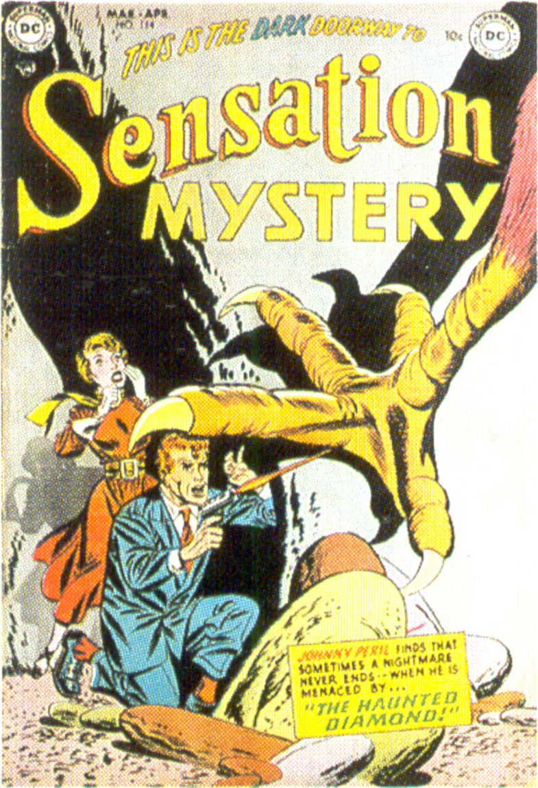 Read online Sensation (Mystery) Comics comic -  Issue #114 - 1