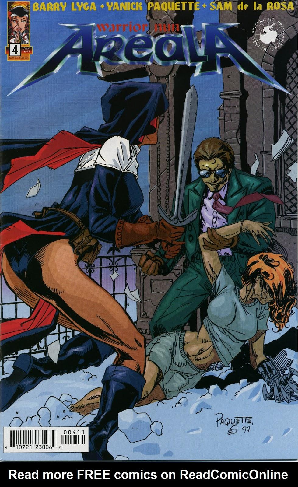 Warrior Nun Areala (1997) Issue #4 #4 - English 1