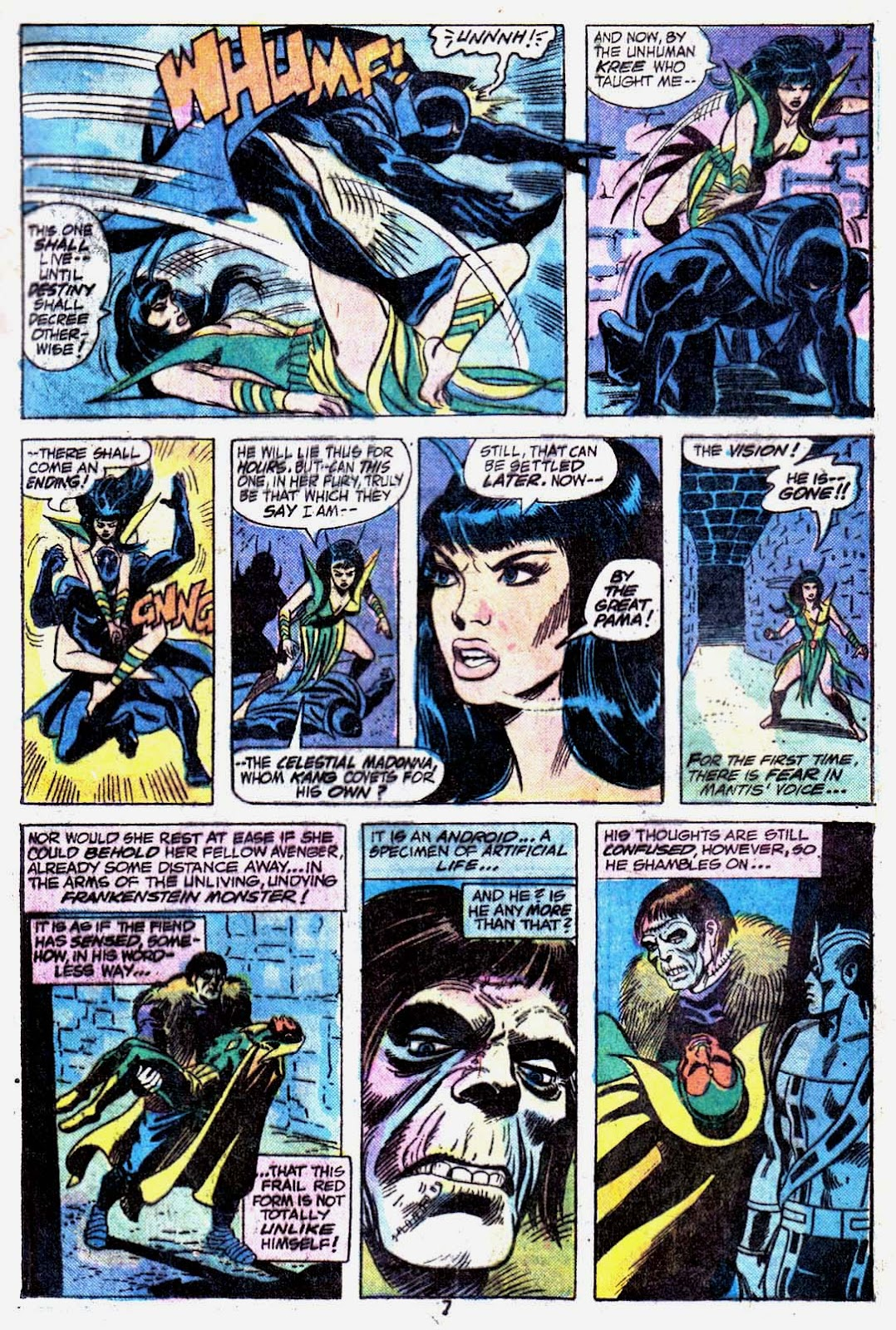 Giant-Size Avengers (1974) issue 3 - Page 9
