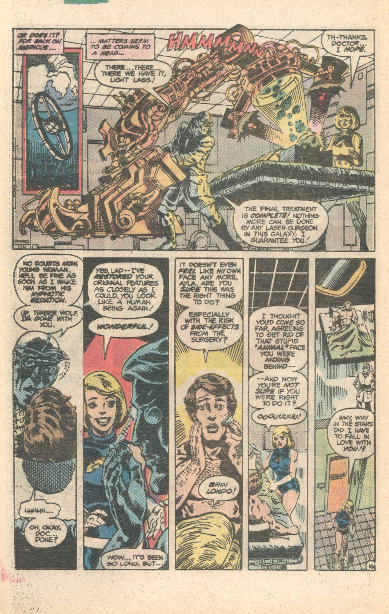 Legion of Super-Heroes (1980) 284 Page 16