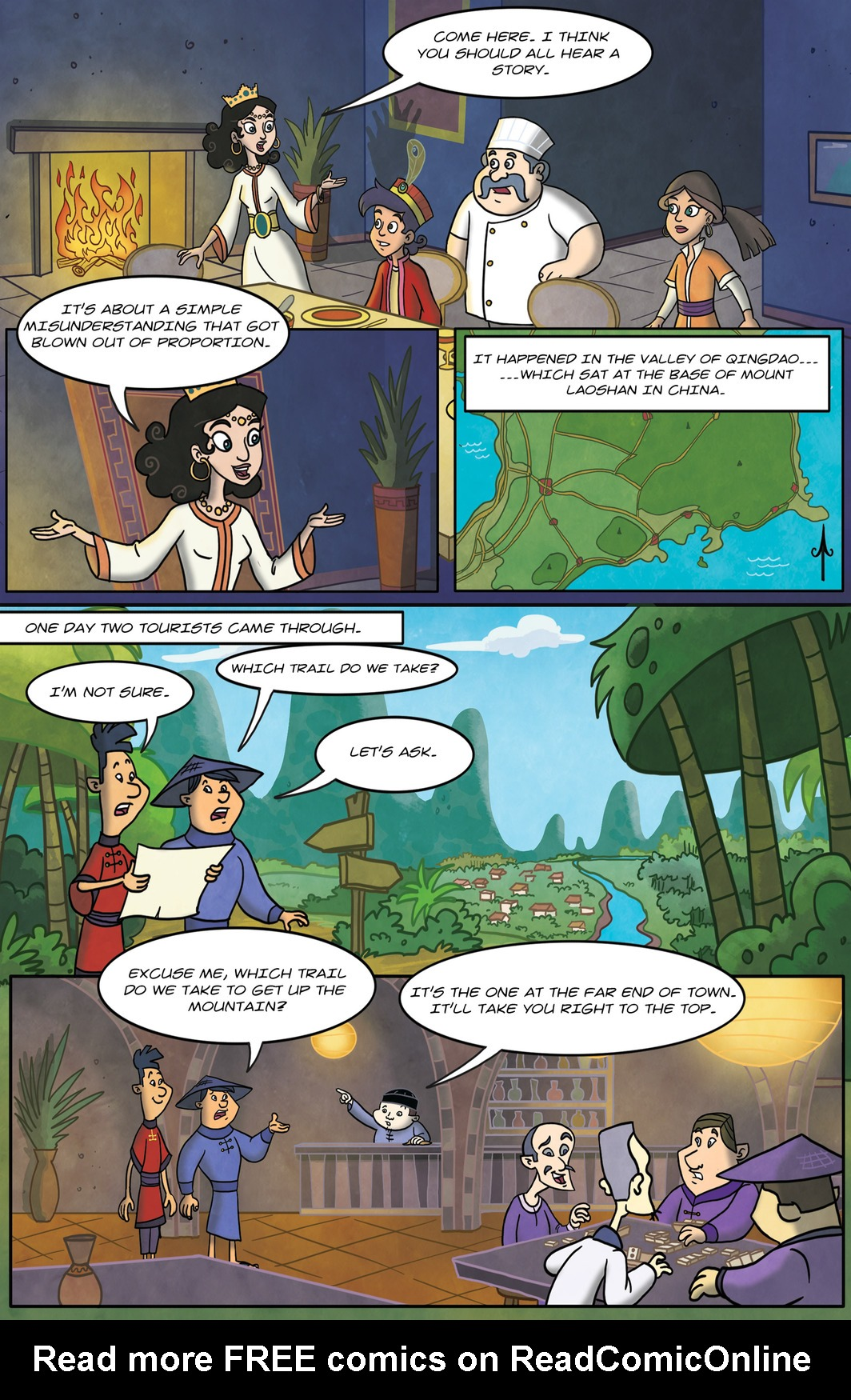 Read online 1001 Nights comic -  Issue #9 - 6