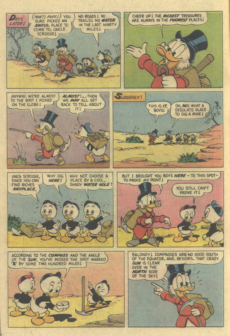 Read online Uncle Scrooge (1953) comic -  Issue #148 - 6