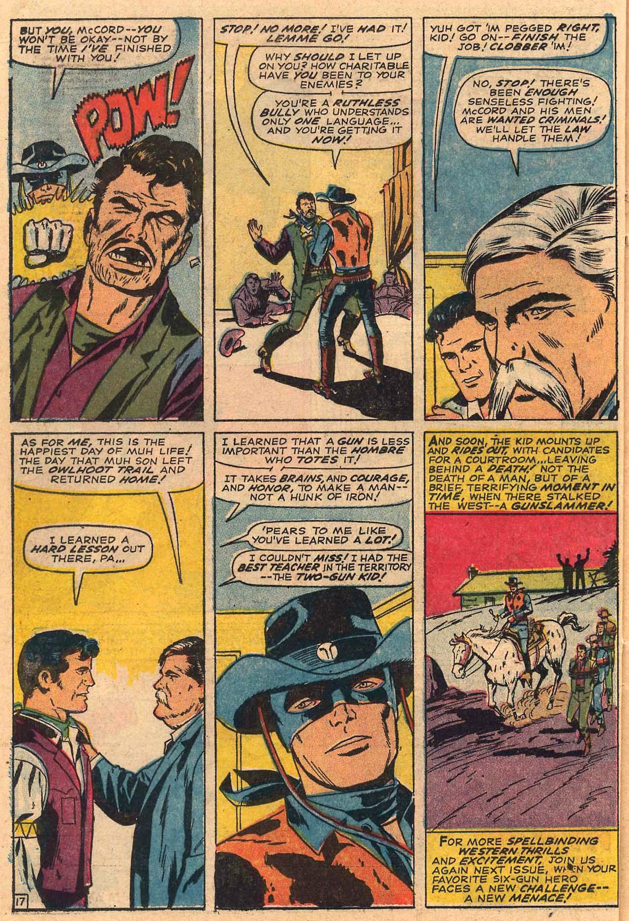 Read online Two-Gun Kid comic -  Issue #84 - 22