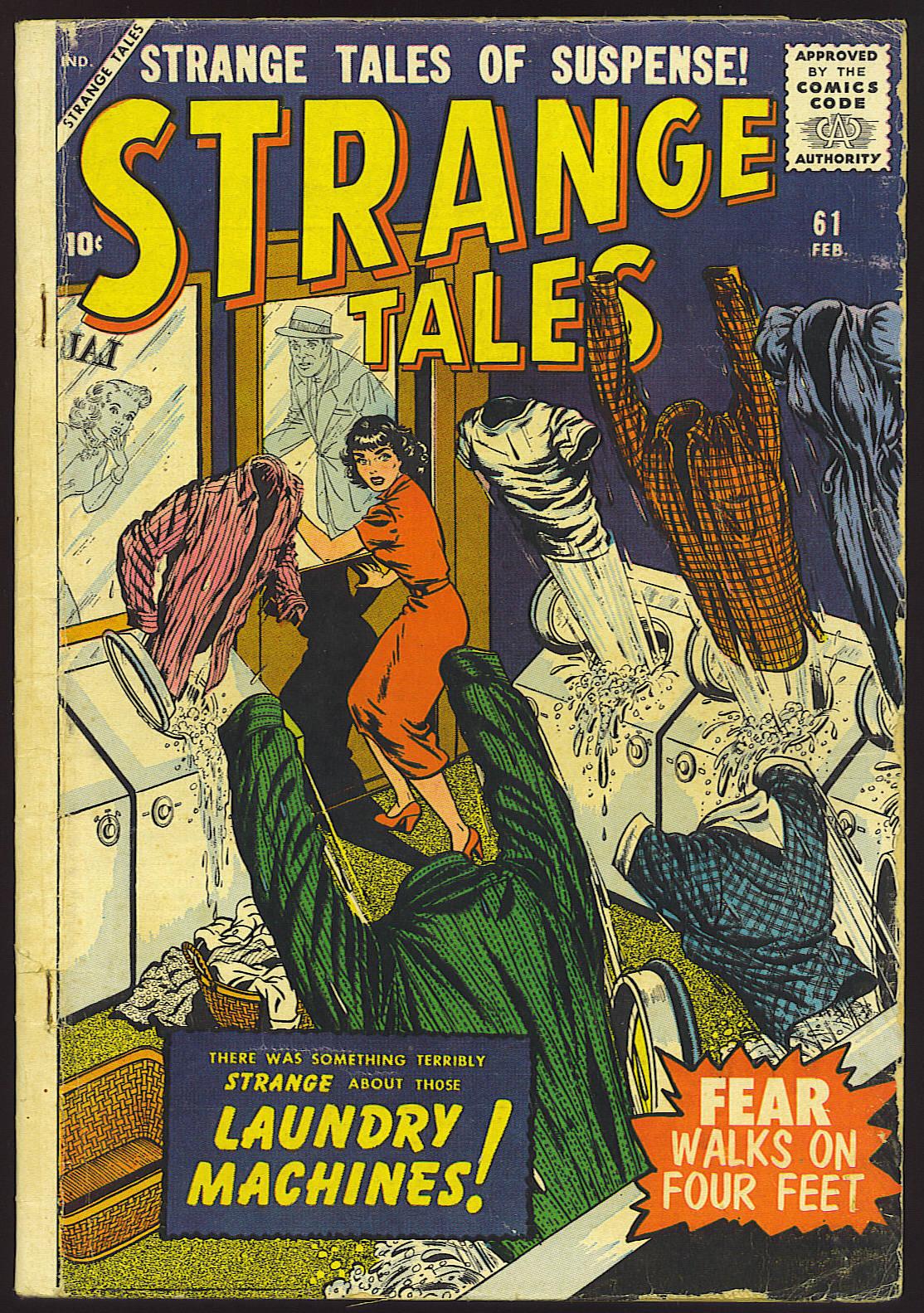 Strange Tales (1951) 61 Page 1