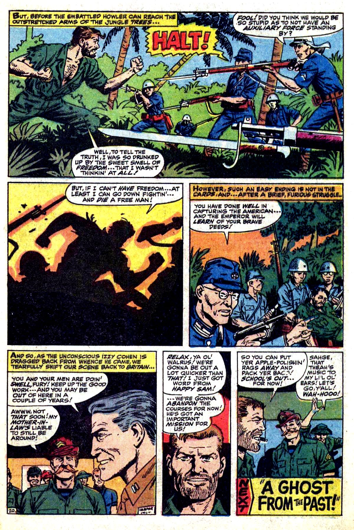 Read online Sgt. Fury comic -  Issue #54 - 29