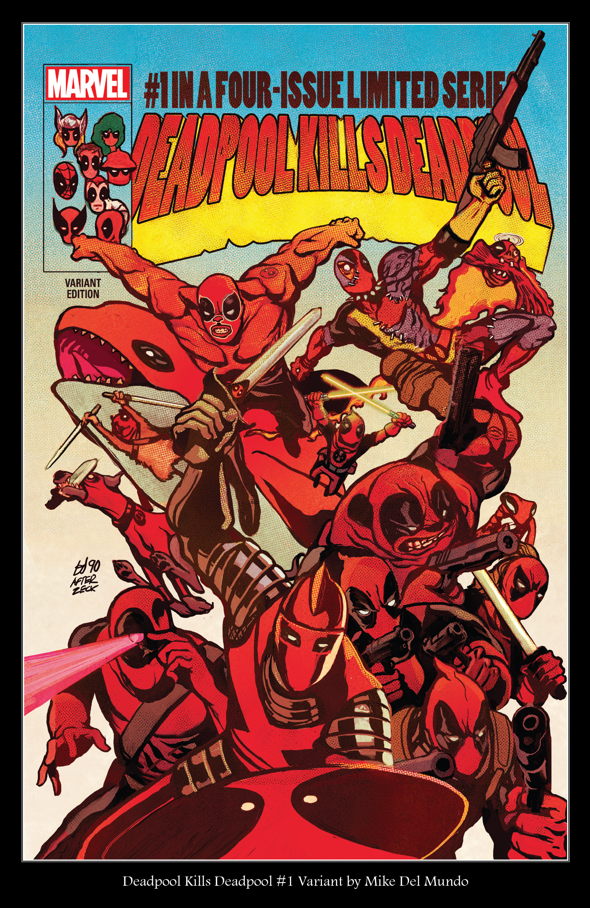 Read online True Believers: Deadpool Variants comic -  Issue # Full - 7