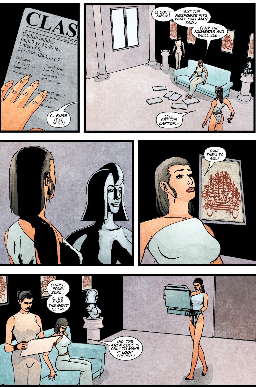 Read online Elektra (2001) comic -  Issue # _TPB Elektra by Greg Rucka Ultimate Collection (Part 1) - 16