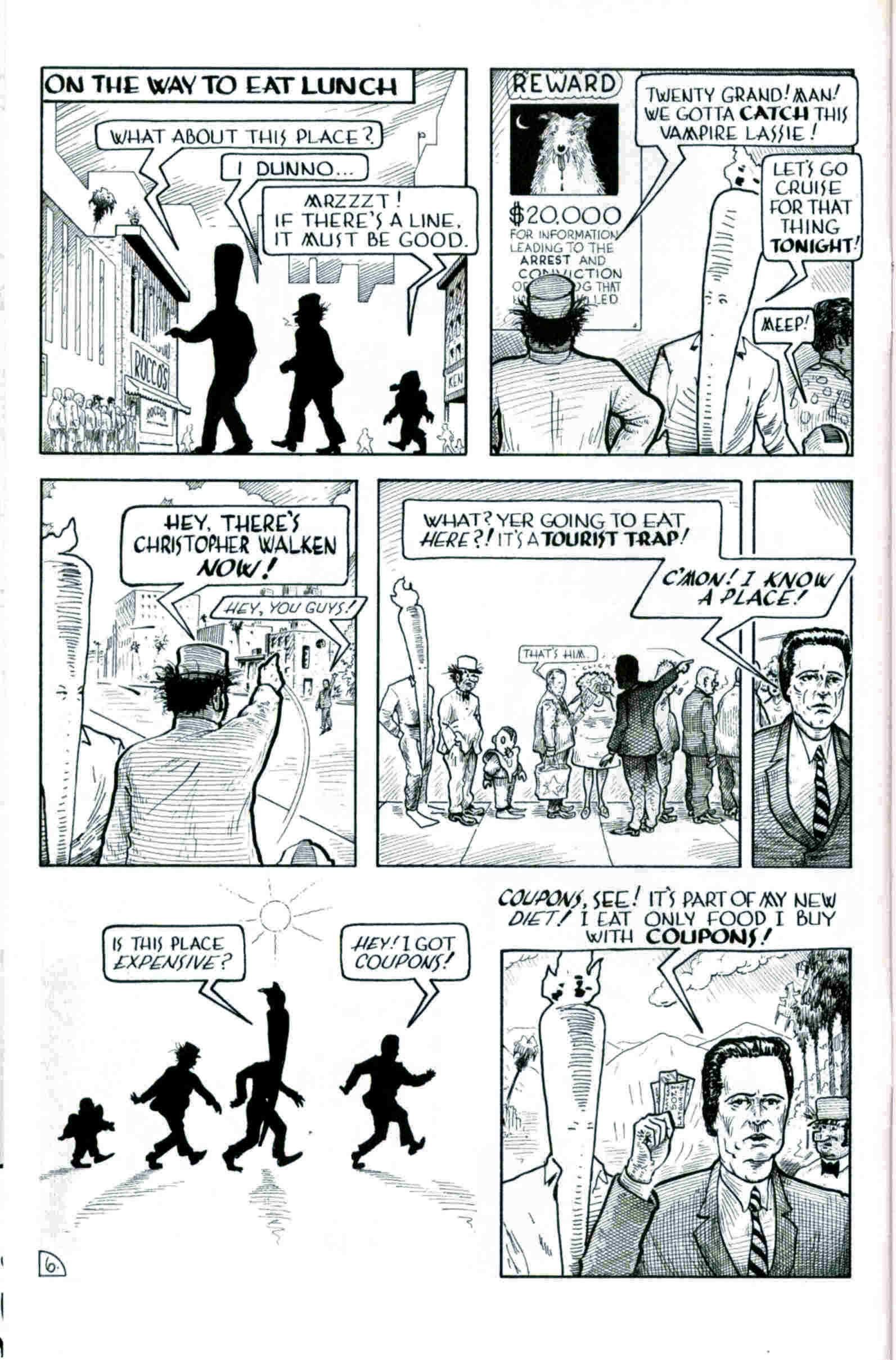 Read online Flaming Carrot & Reid Fleming, World's Toughest Milkman comic -  Issue # Full - 6