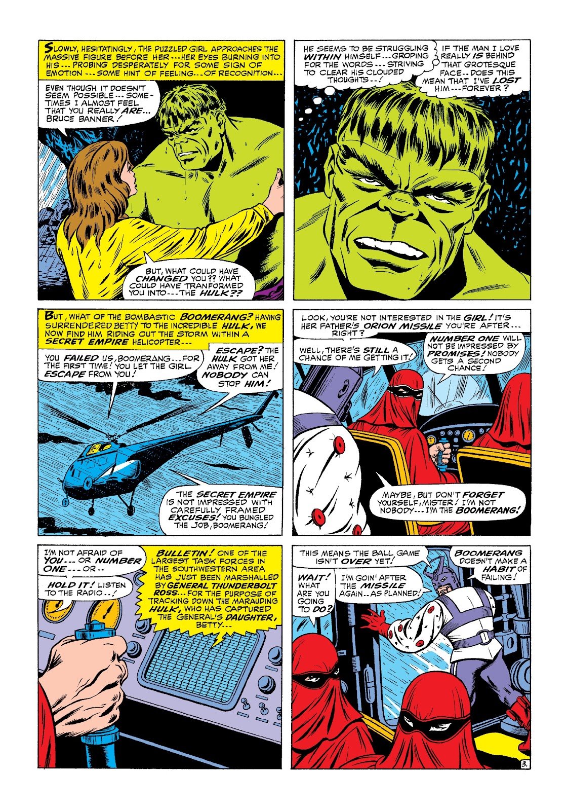 Read online Marvel Masterworks: The Incredible Hulk comic -  Issue # TPB 3 (Part 1) - 43