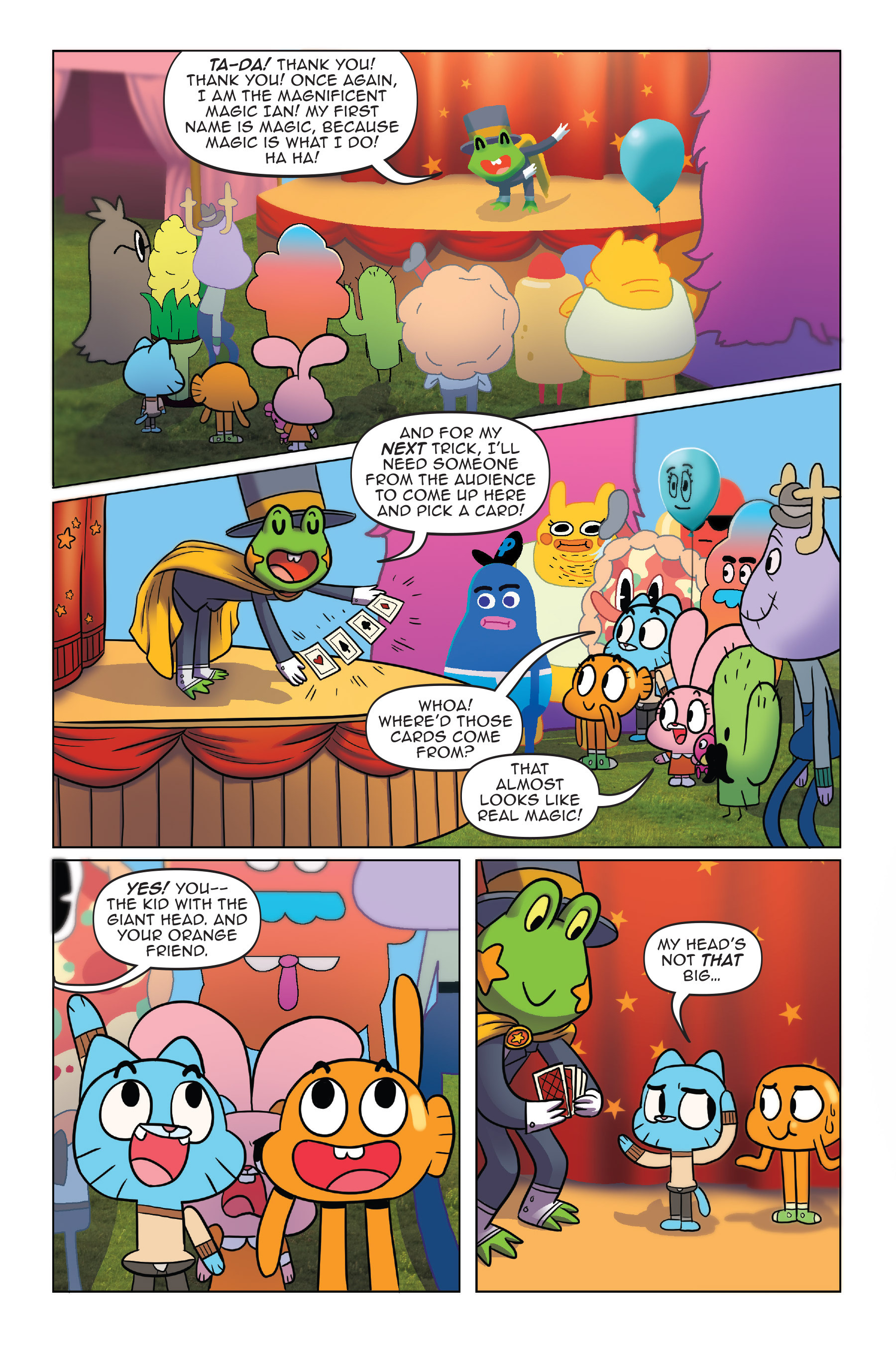 Read online The Amazing World of Gumball: Fairy Tale Trouble comic -  Issue # Full - 15