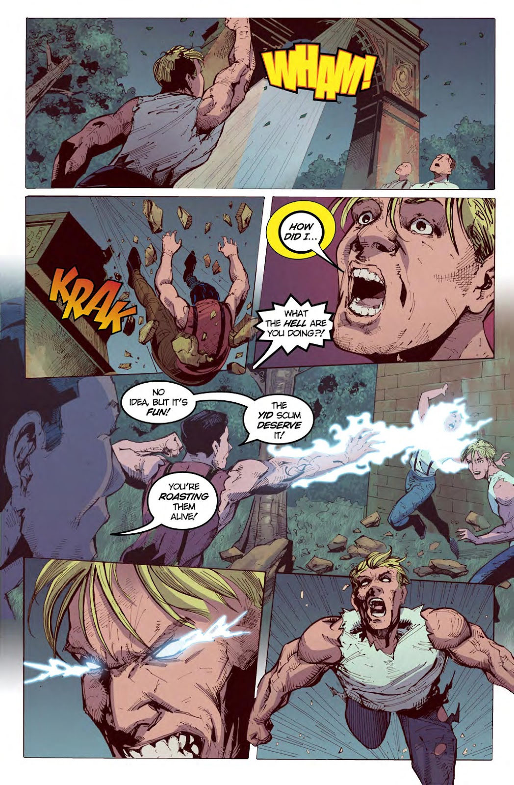 Read online American Dreams comic -  Issue #1 - 18