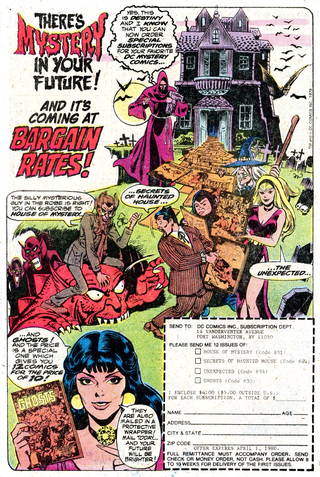 Read online Secrets of Haunted House comic -  Issue #24 - 30