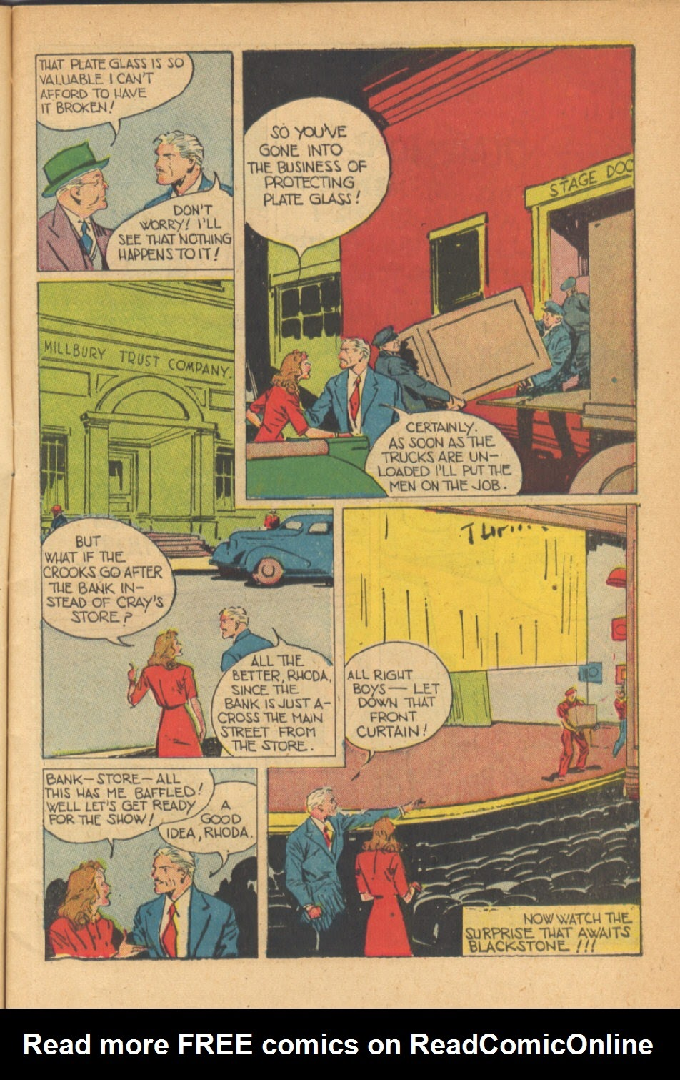 Read online Super-Magician Comics comic -  Issue #41 - 7