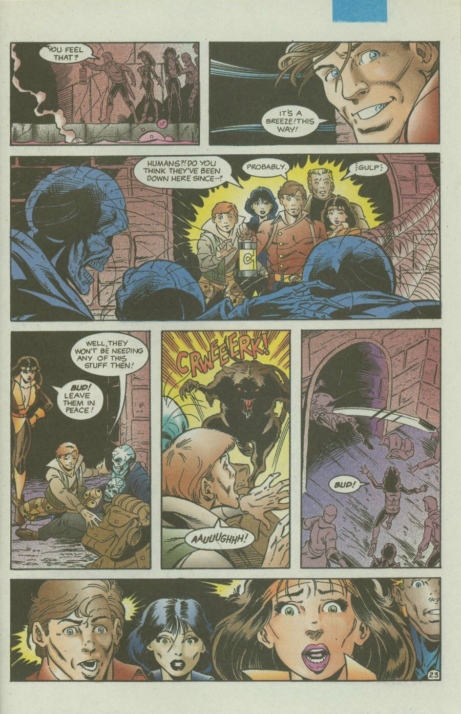Read online Ex-Mutants comic -  Issue #4 - 28
