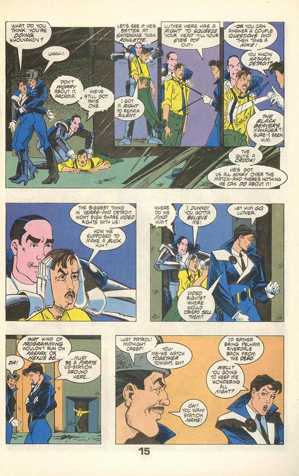 Read online American Flagg! comic -  Issue #31 - 19