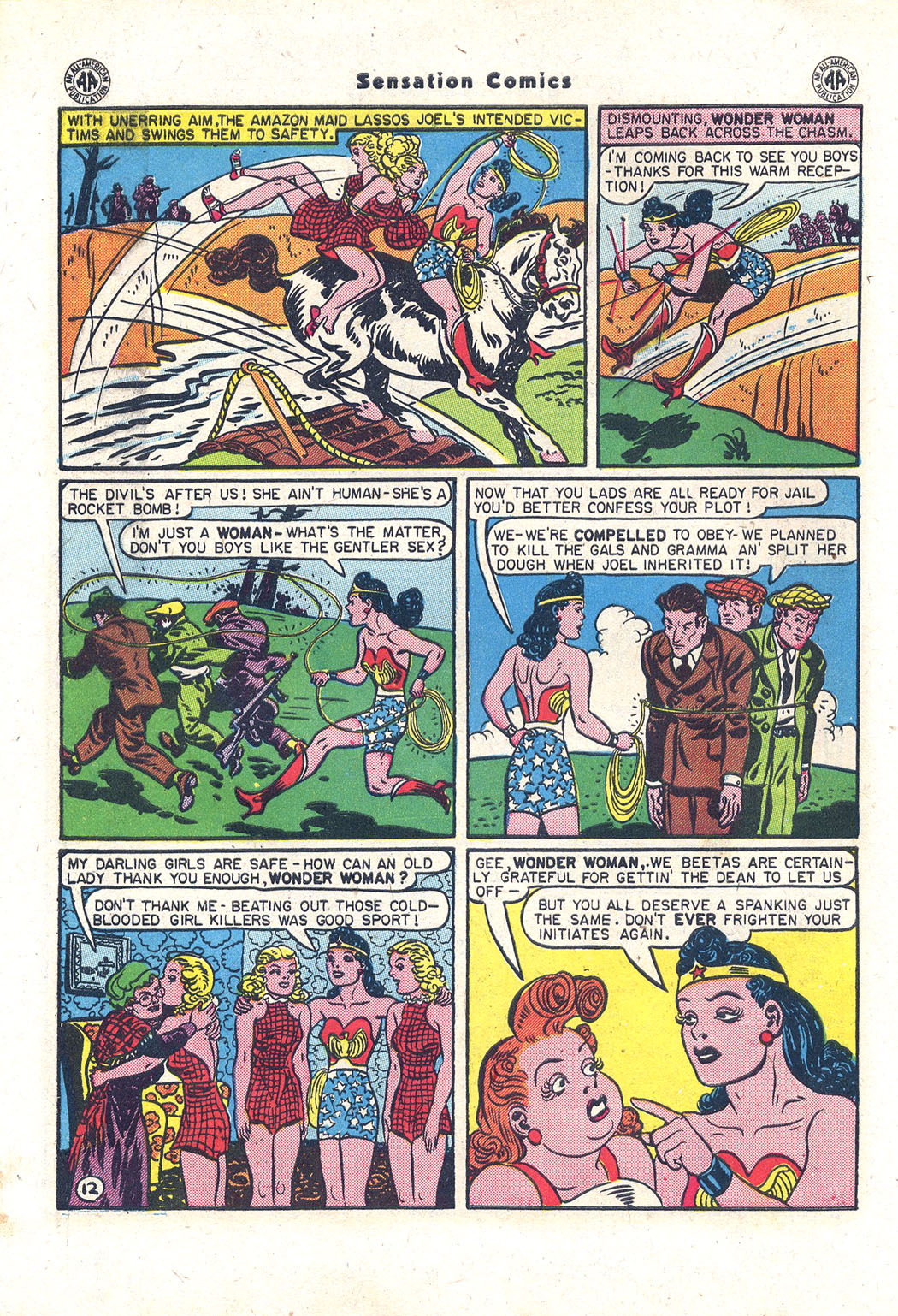 Read online Sensation (Mystery) Comics comic -  Issue #43 - 13