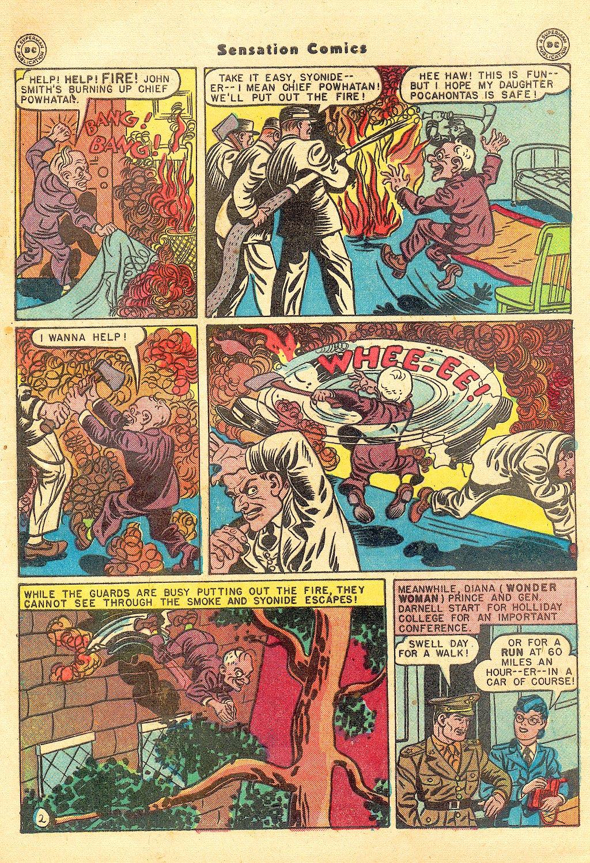 Read online Sensation (Mystery) Comics comic -  Issue #57 - 4