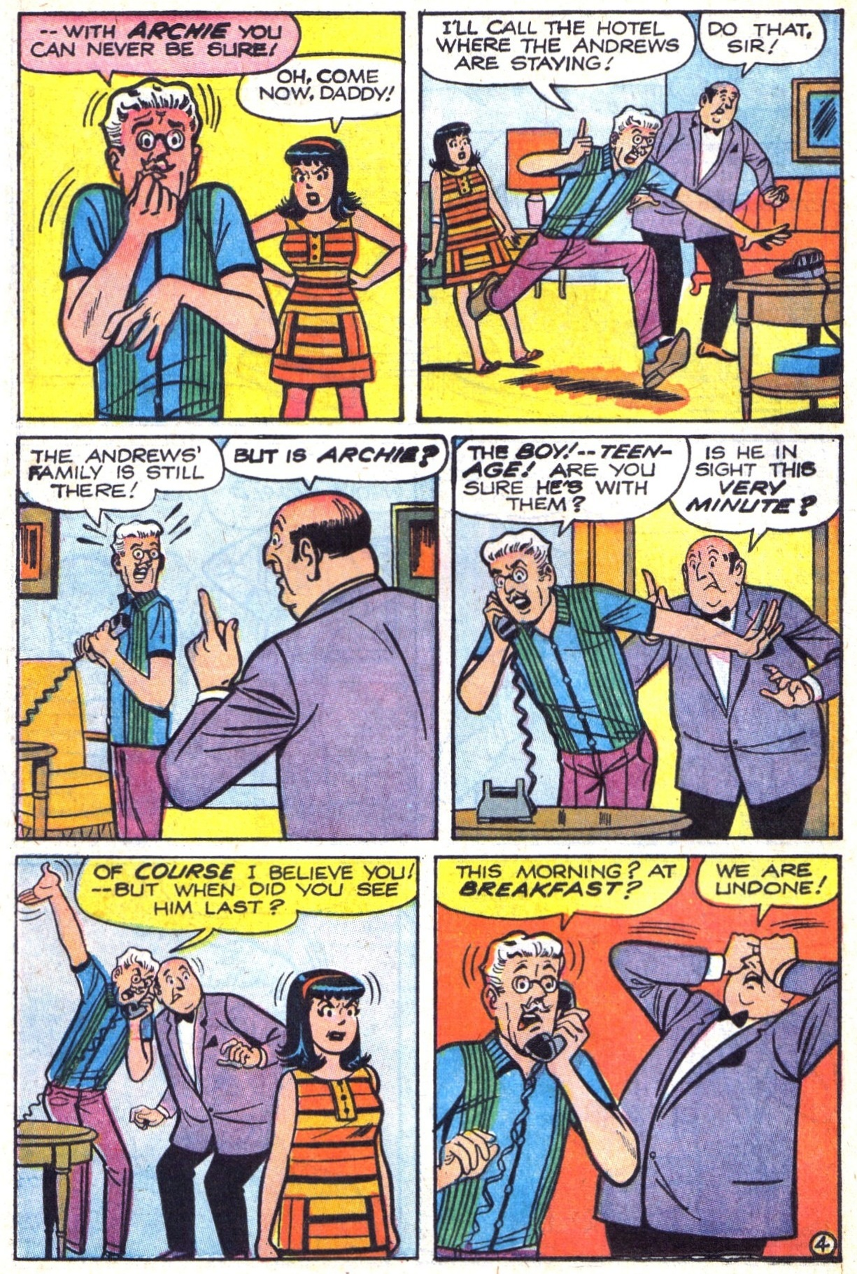 Read online Archie (1960) comic -  Issue #177 - 16
