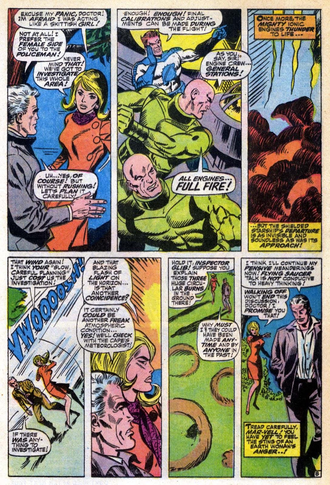 Captain Marvel (1968) Issue #6 #6 - English 9