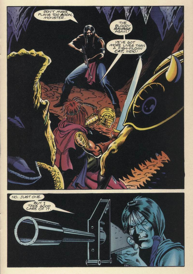 Read online Turok, Dinosaur Hunter (1993) comic -  Issue #15 - 16
