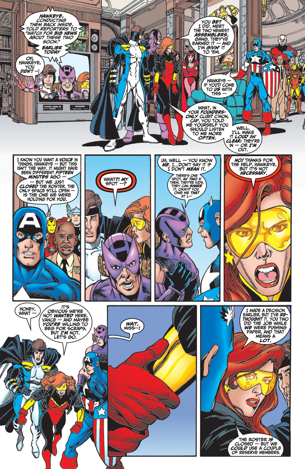 Read online Avengers (1998) comic -  Issue #4 - 20