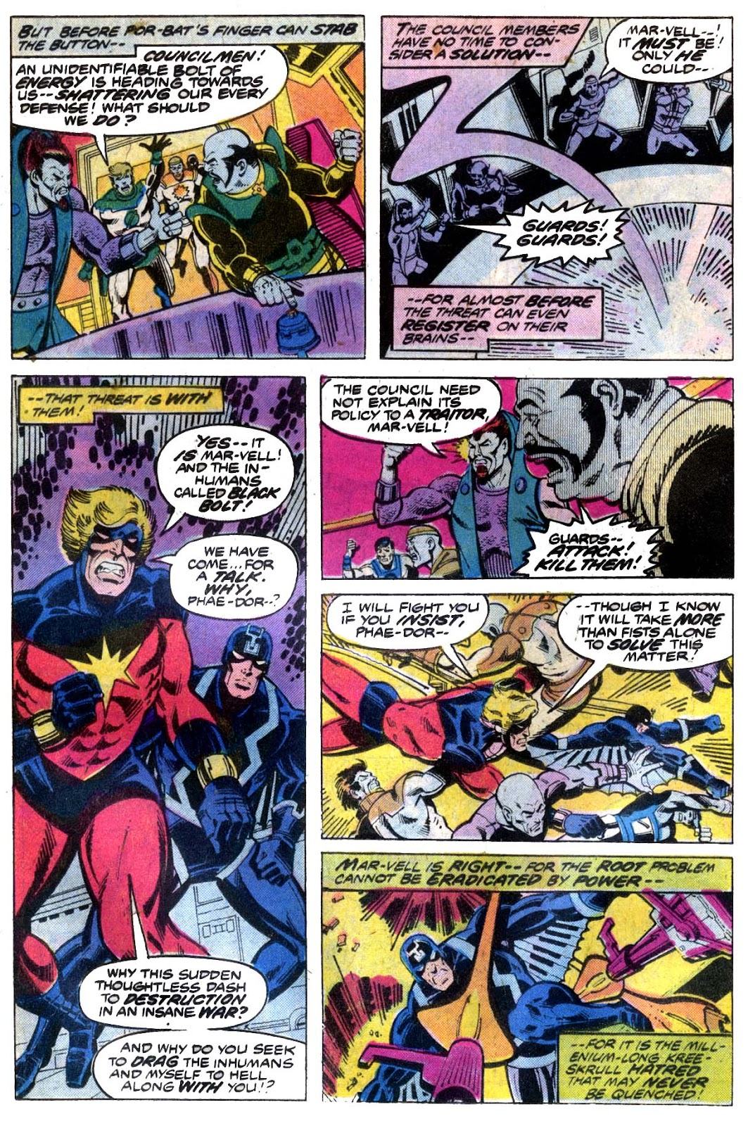 Captain Marvel (1968) issue 53 - Page 9