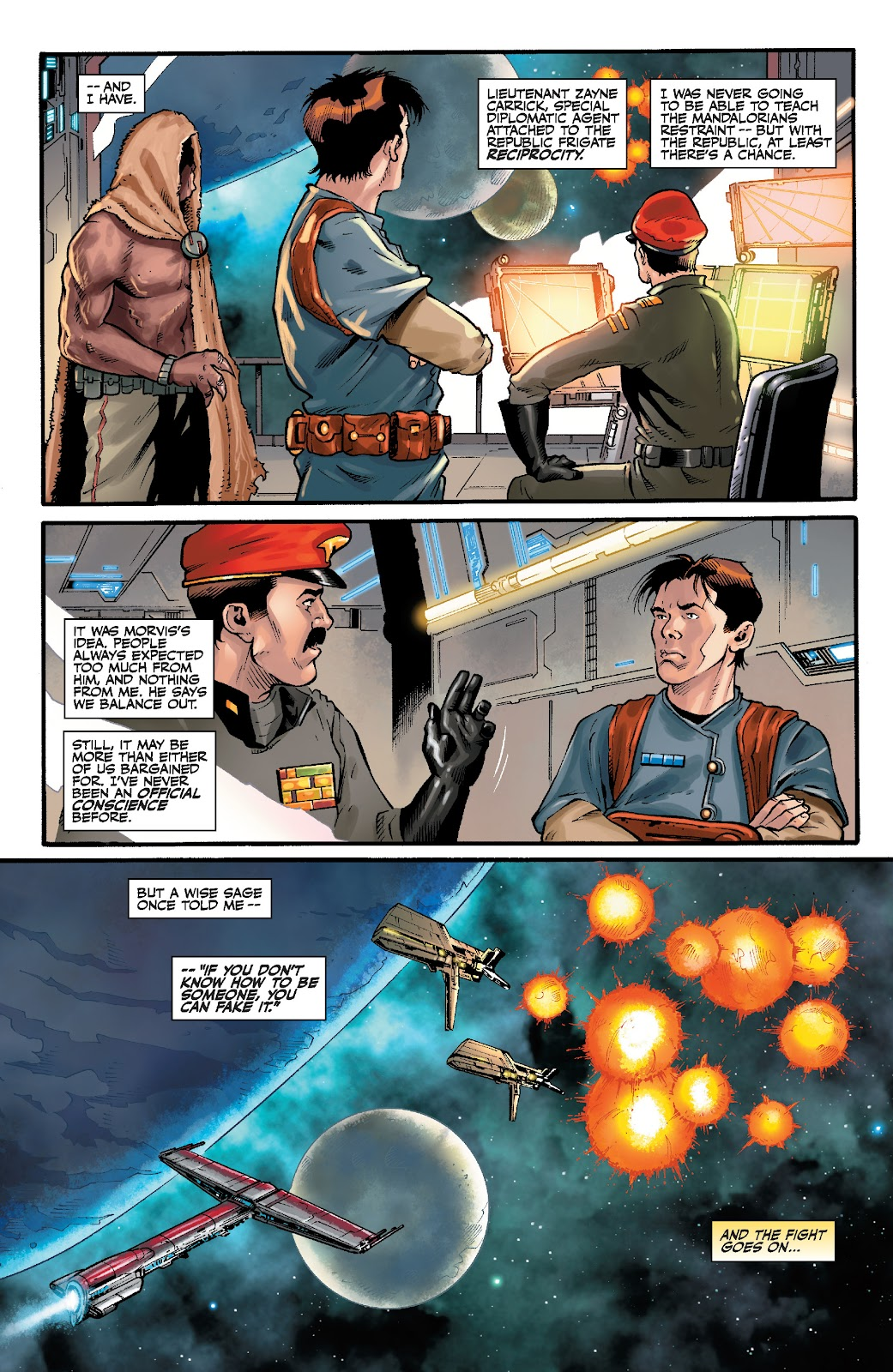 Read online Star Wars Legends: The Old Republic - Epic Collection comic -  Issue # TPB 3 (Part 5) - 17
