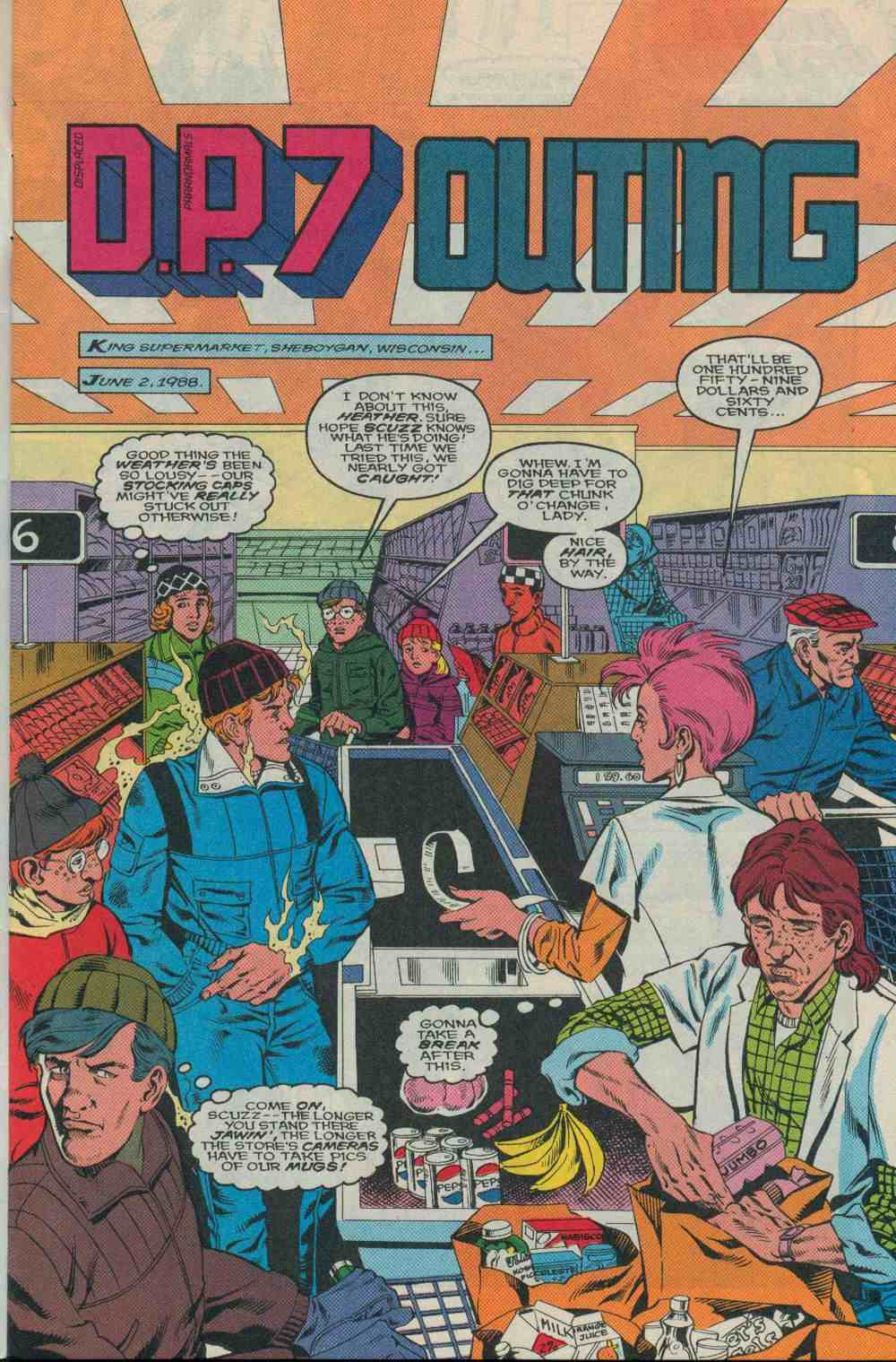Read online DP7 comic -  Issue #25 - 2