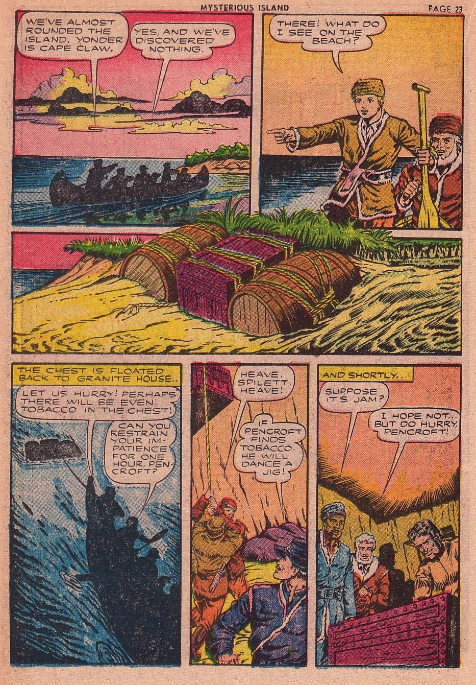 Classics Illustrated issue 34 - Page 22