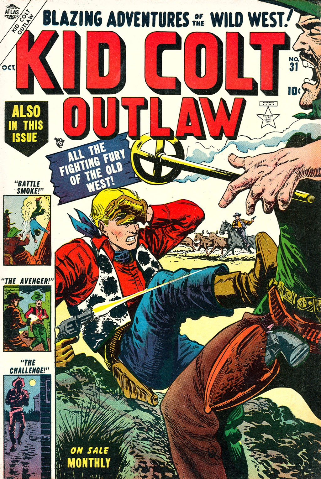 Kid Colt Outlaw issue 31 - Page 1