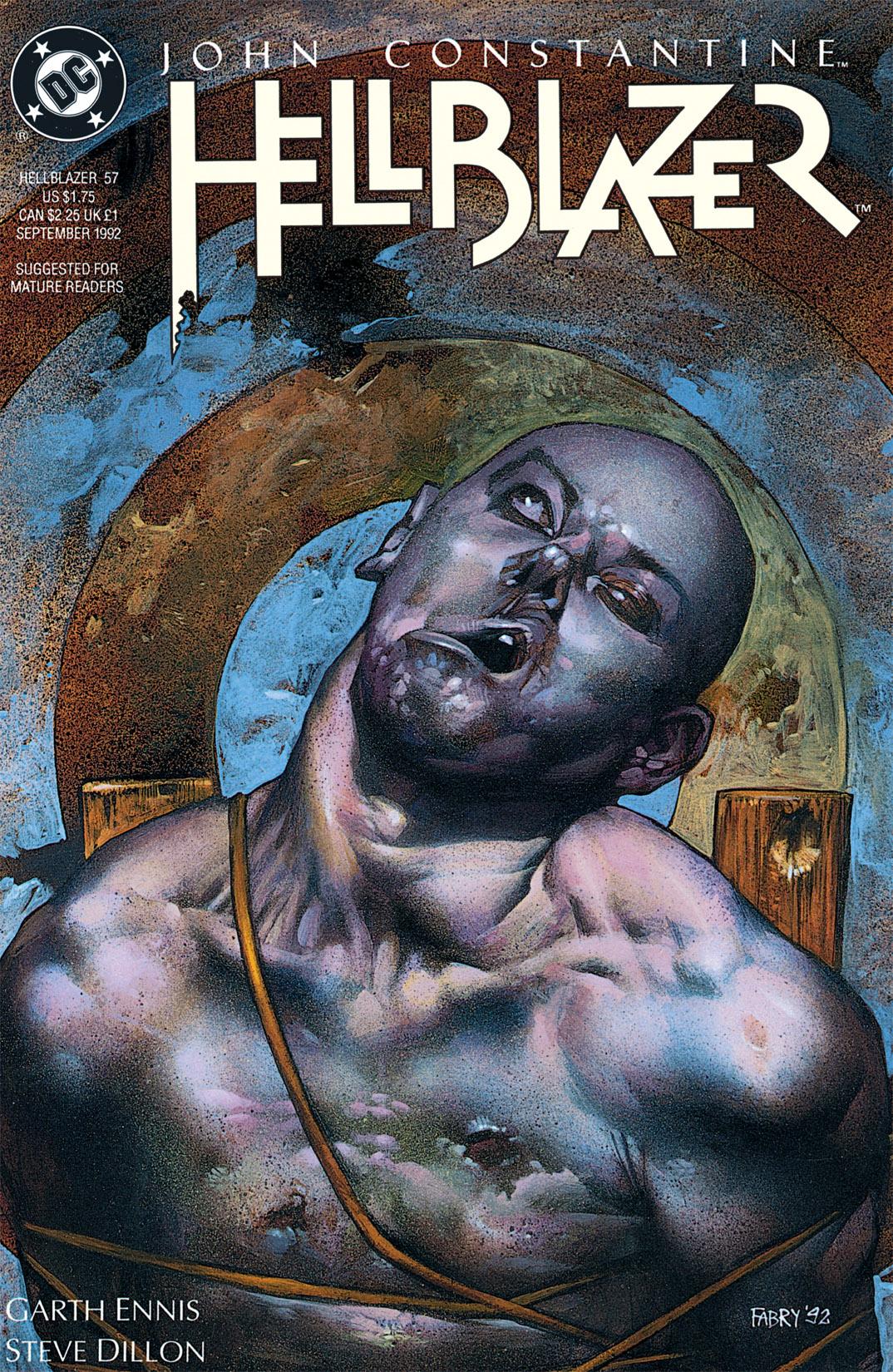 Hellblazer issue 57 - Page 1