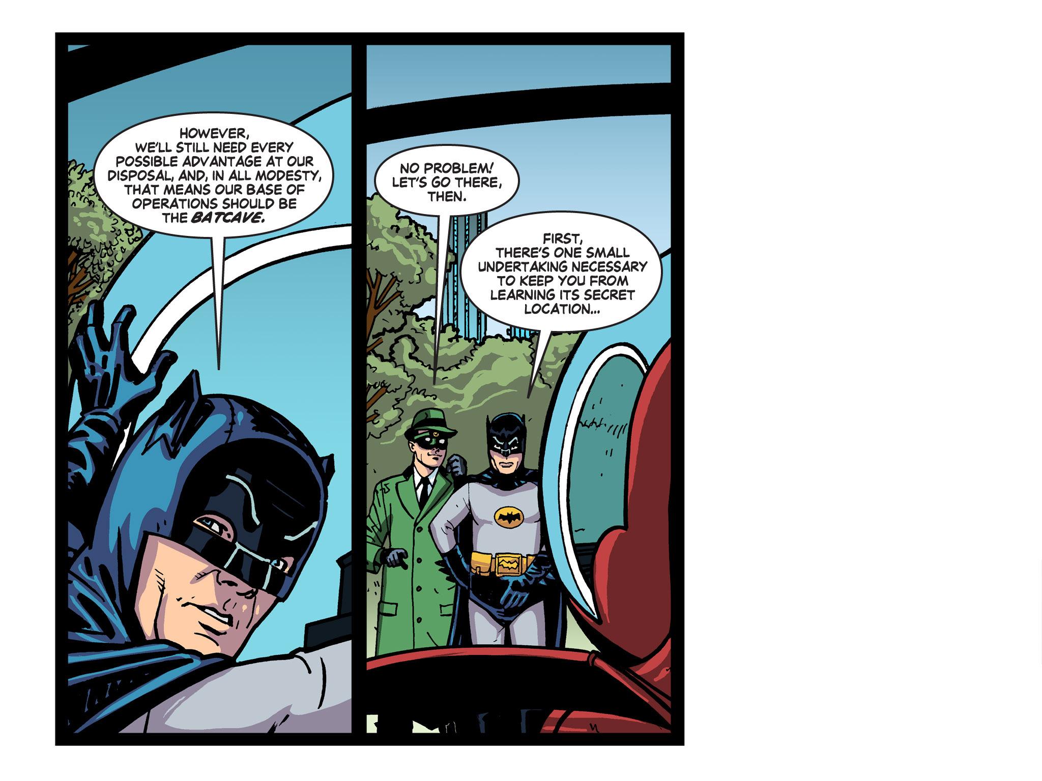 Read online Batman '66 Meets the Green Hornet [II] comic -  Issue #5 - 40
