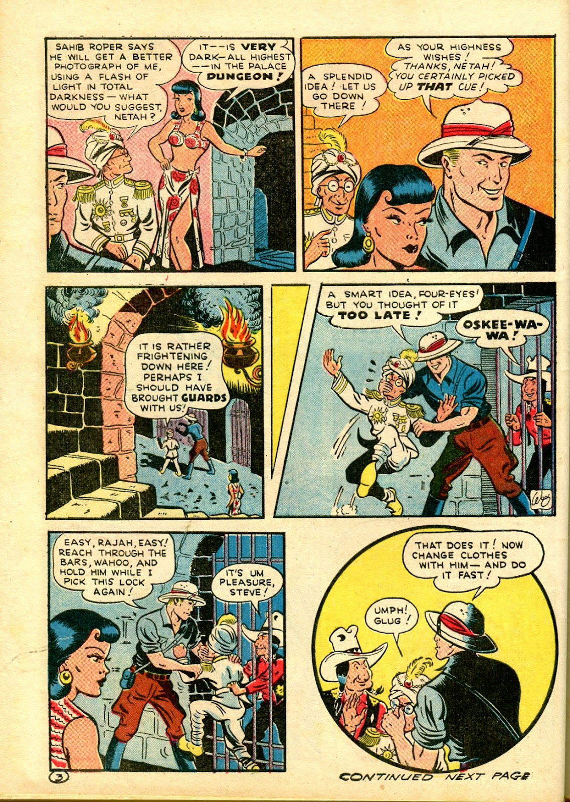 Read online Famous Funnies comic -  Issue #111 - 56