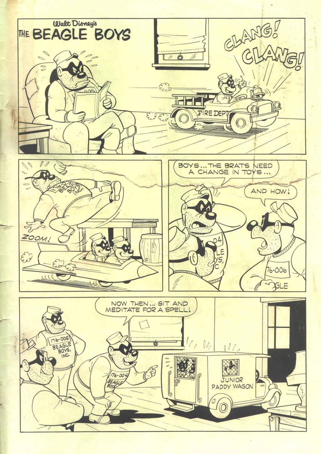 Walt Disney THE BEAGLE BOYS issue 2 - Page 35