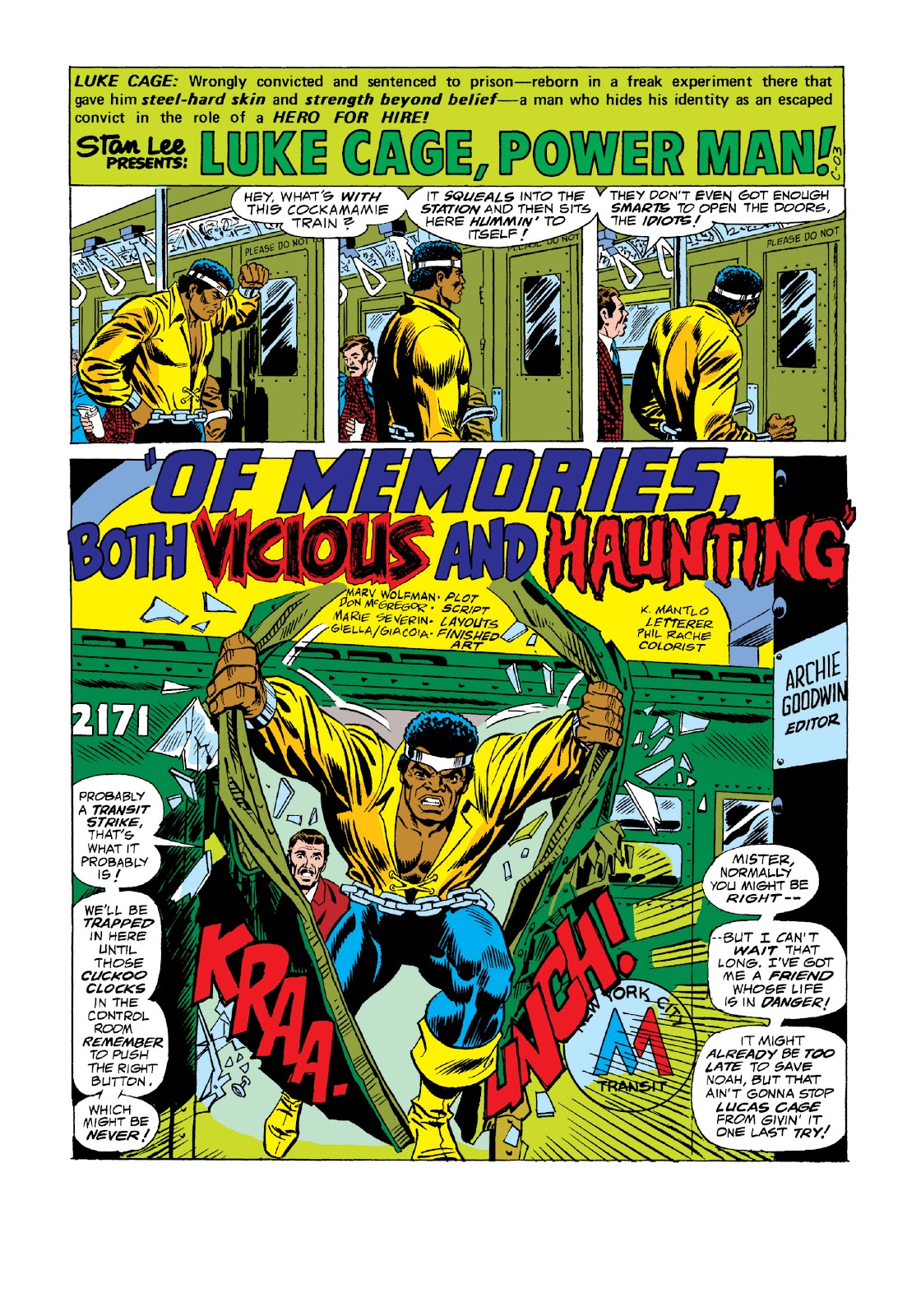 Read online Marvel Masterworks: Luke Cage, Power Man comic -  Issue # TPB 3 (Part 1) - 64
