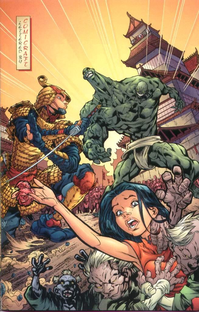 Read online Ninja Boy comic -  Issue #1 - 4