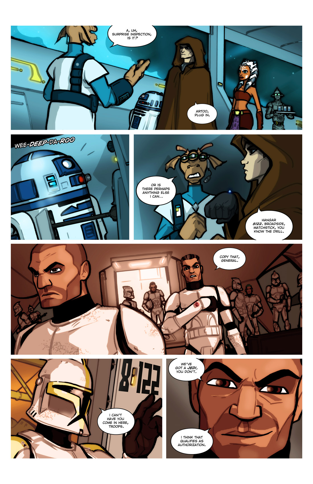 Read online Star Wars: Tales From The Clone Wars comic -  Issue # TPB - 21