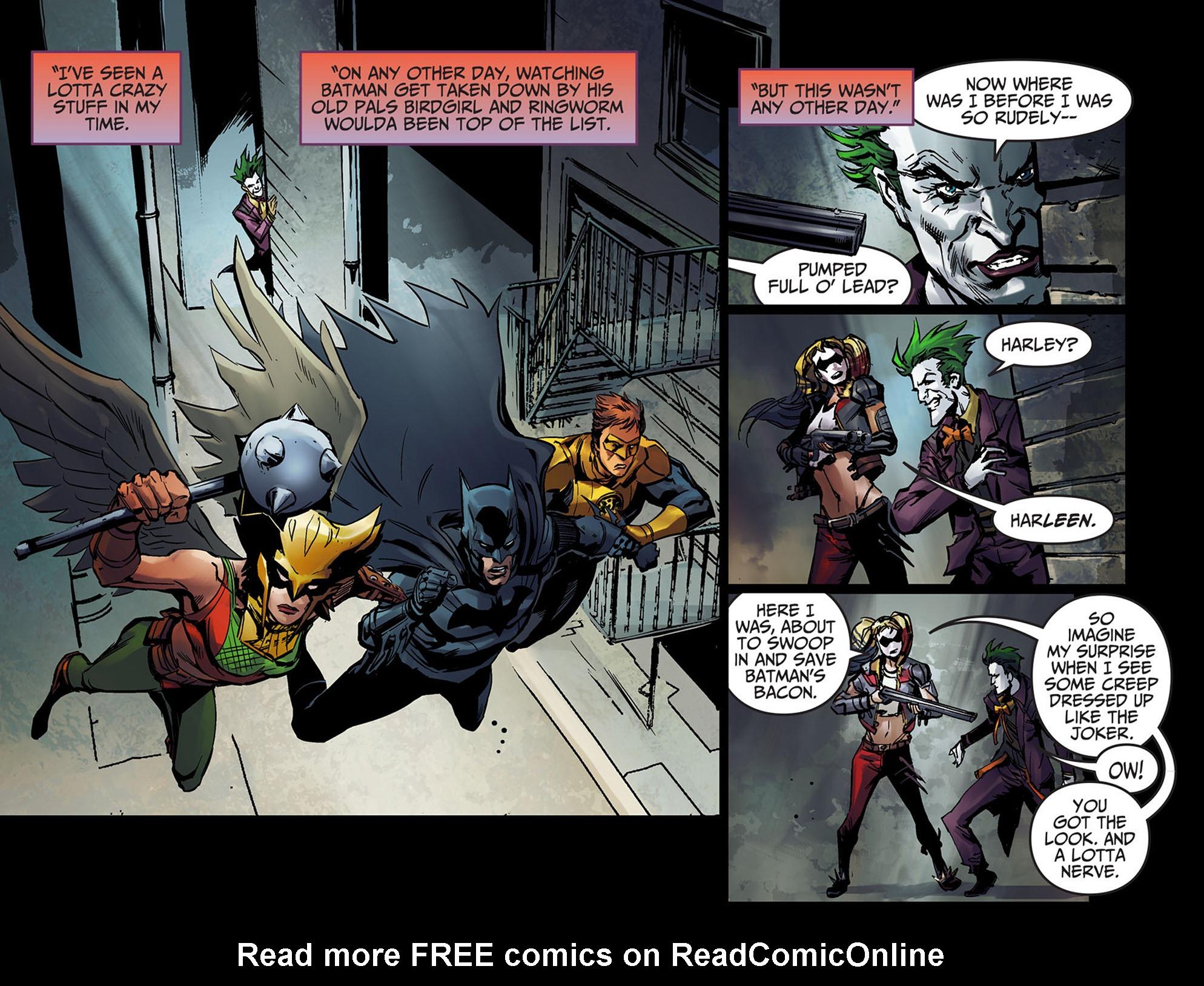 Read online Injustice: Ground Zero comic -  Issue #5 - 6