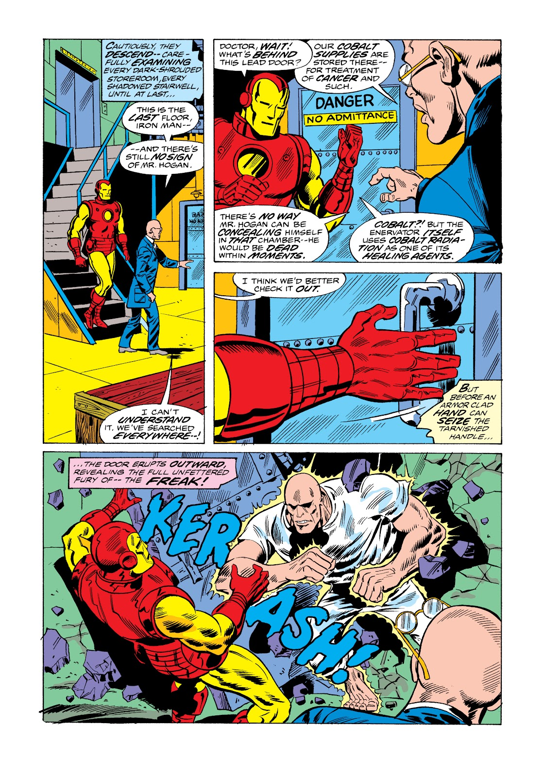 Read online Marvel Masterworks: The Invincible Iron Man comic -  Issue # TPB 11 (Part 1) - 55