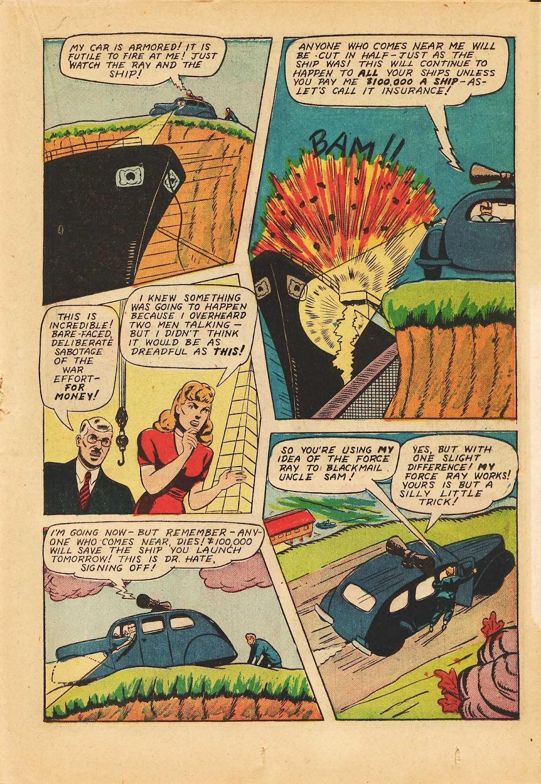 Super-Magician Comics issue 22 - Page 35