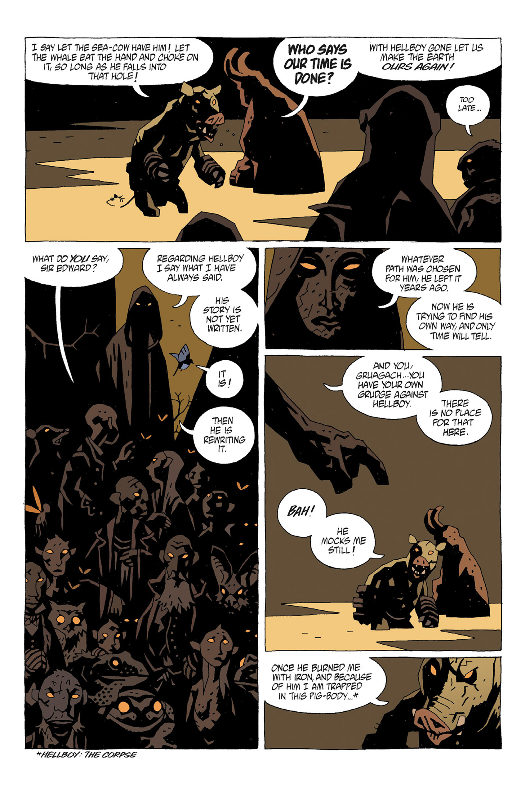 Read online Hellboy: Strange Places comic -  Issue # TPB - 48