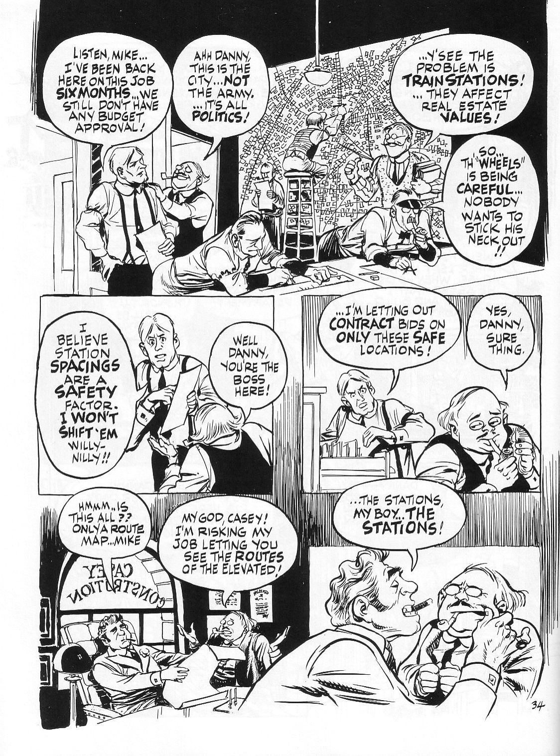 Read online Dropsie Avenue, The Neighborhood comic -  Issue # Full - 36